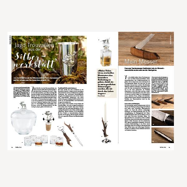 Künzler Bachmann Verlag Tavola – Genussanregendes Magazin für Design in der Küche. Konzeption. Gestaltung. Corporate Design. Magazingestaltung.