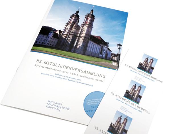 Treuhand Suisse – Broschüre und Programmführer